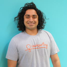 Couchsurfing T-Shirt - Gray